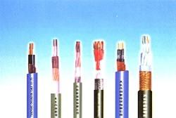 氟塑料绝缘和护套耐高温电缆、氟塑料绝缘聚氯乙烯护套控制电缆
